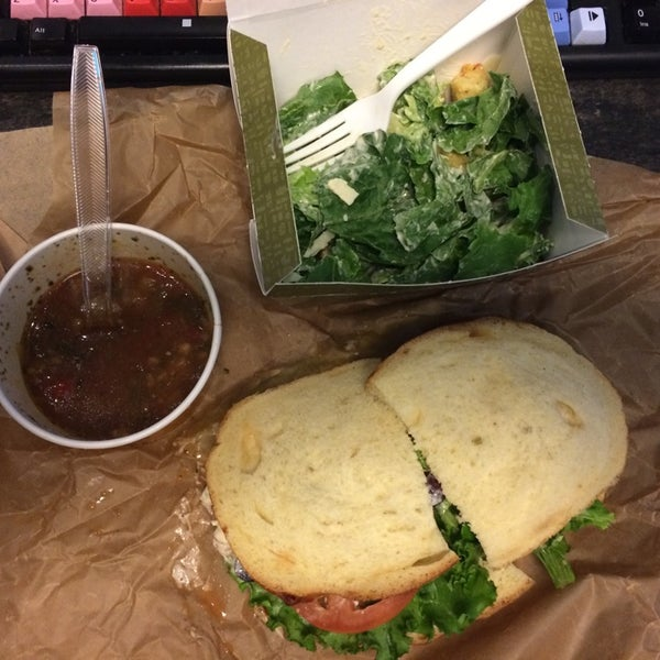 Photo taken at Panera Bread by Ronnie D. on 8/26/2014