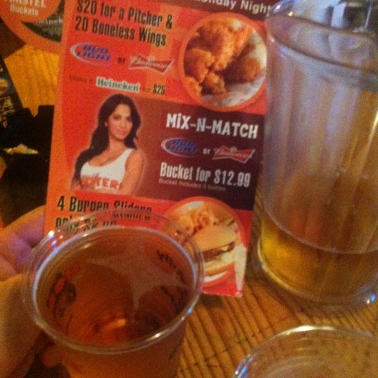 Photo taken at Hooters by Руслан K. on 10/17/2012