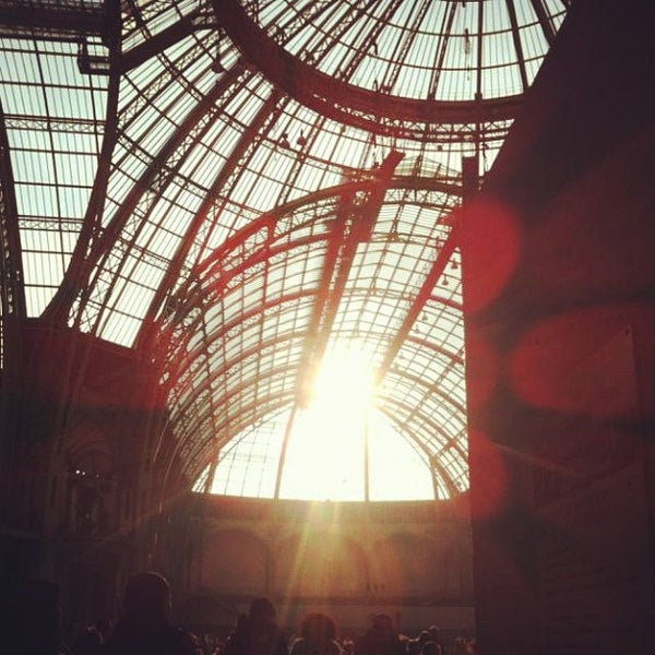 Photo taken at Grand Palais by Elisabeth M. on 12/24/2012