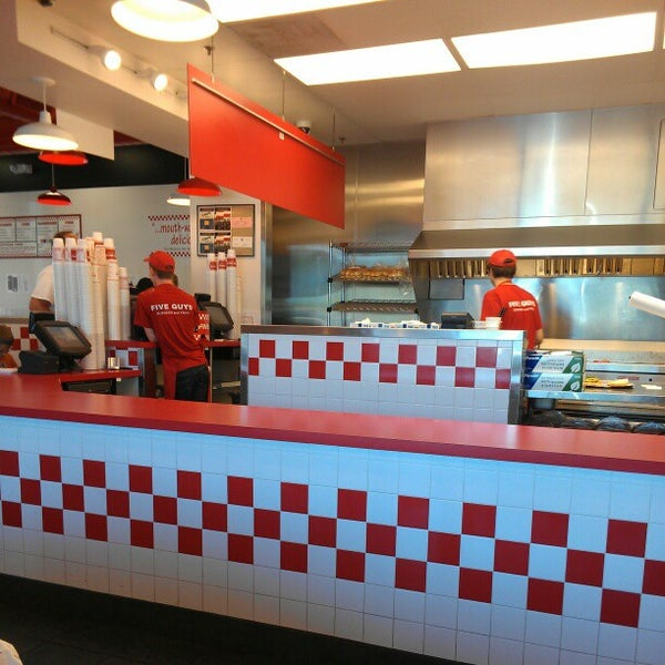 Photo taken at Five Guys by Patrick M. on 10/20/2012