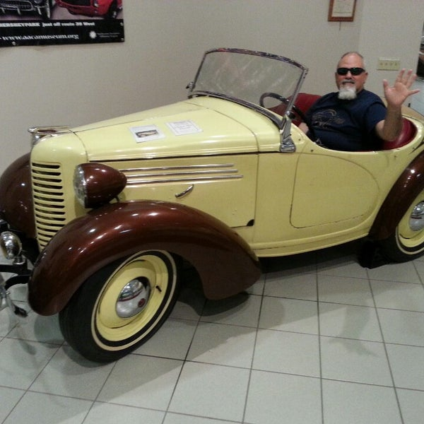 Photo taken at The Antique Automobile Club of America Museum by Alison G. on 8/10/2014
