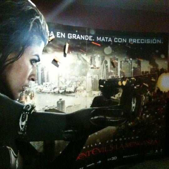 Photo taken at Cine Hoyts by Viviana P. on 9/23/2012