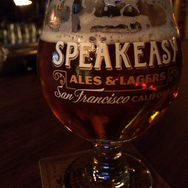 Photo taken at Speakeasy Ales & Lagers by Inome C. on 2/9/2014