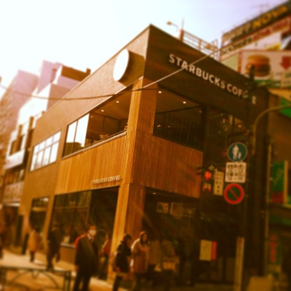 Photo taken at Starbucks Coffee 神楽坂下店 by haru78 on 1/25/2013