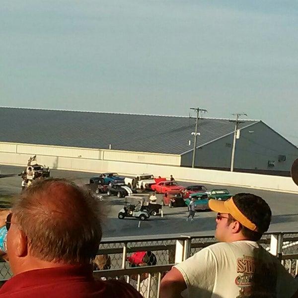 Photo taken at Harrington Raceway & Casino by Jen J. on 6/28/2014
