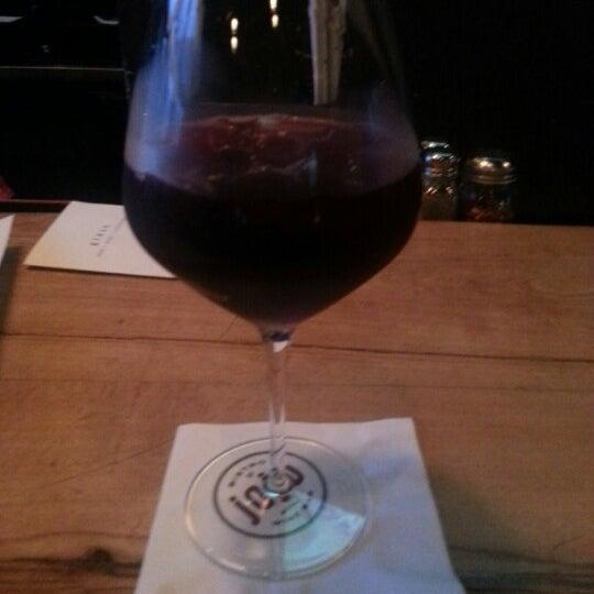 Photo taken at JoJo Bistro & Wine Bar by Natalie K. on 1/12/2013