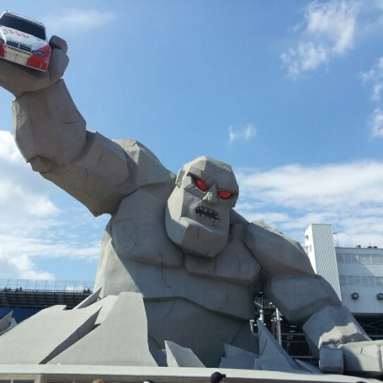 Photo taken at Dover International Speedway by Maggie on 9/30/2012