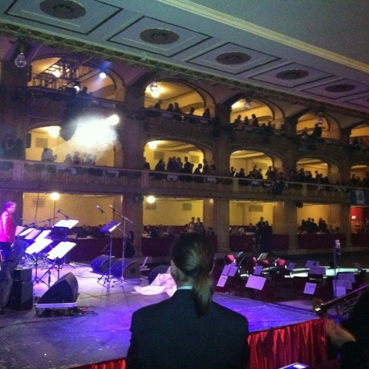 Photo taken at Palác Lucerna by Pavol J. on 12/5/2012