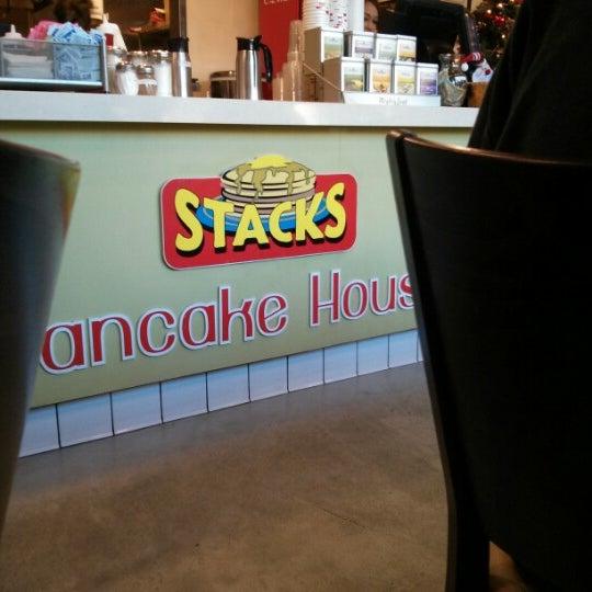 Photo taken at Stacks Pancake House by Shel on 12/15/2012