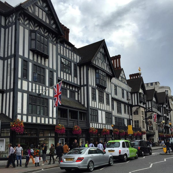 Photo taken at Liberty of London by Tessa T. on 8/9/2015