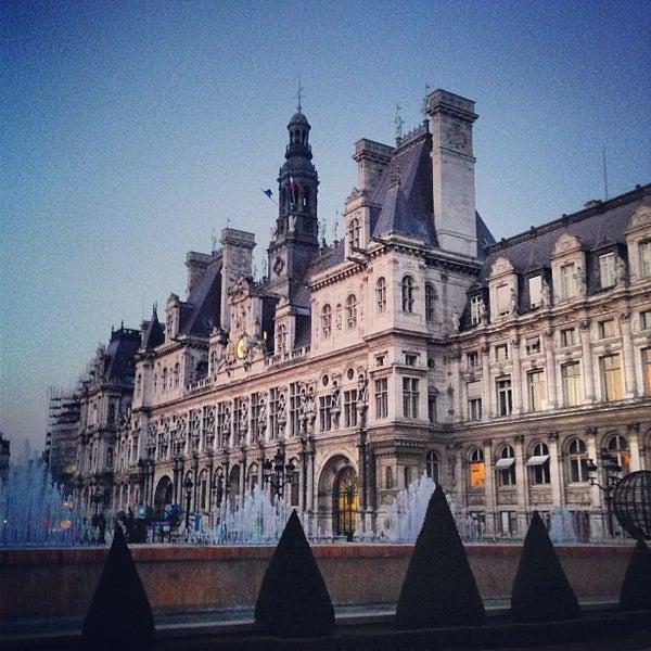 H tel de ville de paris city hall in h tel de ville for Hotel deville paris