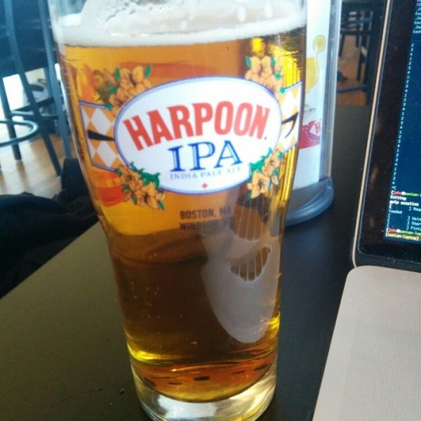 Photo taken at Harpoon Tap Room by John B. on 5/22/2015