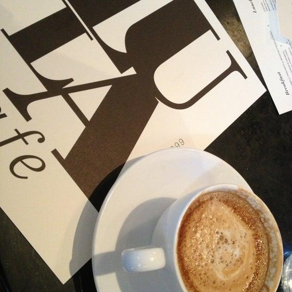 Photo taken at Lula Café by Eric on 3/10/2013