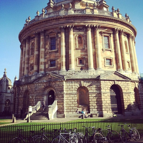Photo taken at Radcliffe Camera by Krzysztof on 4/23/2013