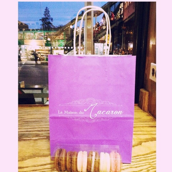 Photo taken at La Maison du Macaron by Vanessa L. on 5/20/2014