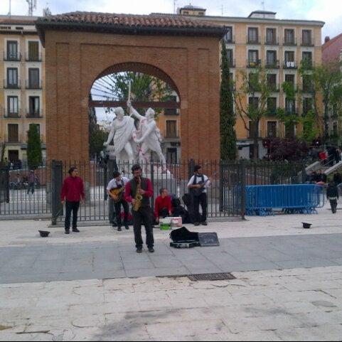 Photo taken at Plaza del Dos de Mayo by lara b. on 5/2/2013