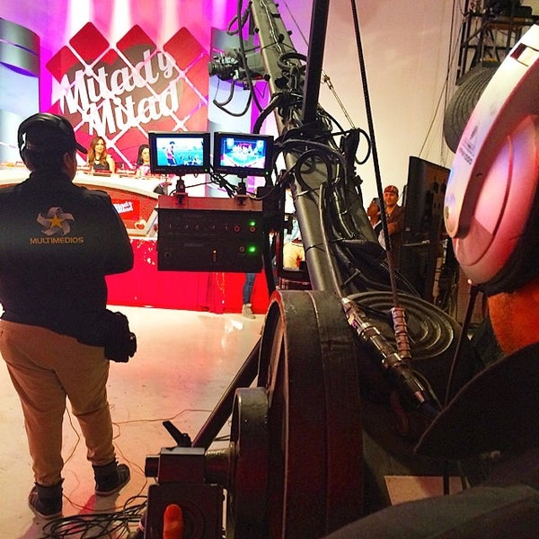 Photo taken at Multimedios Televisión by Gilberto D. on 6/19/2014
