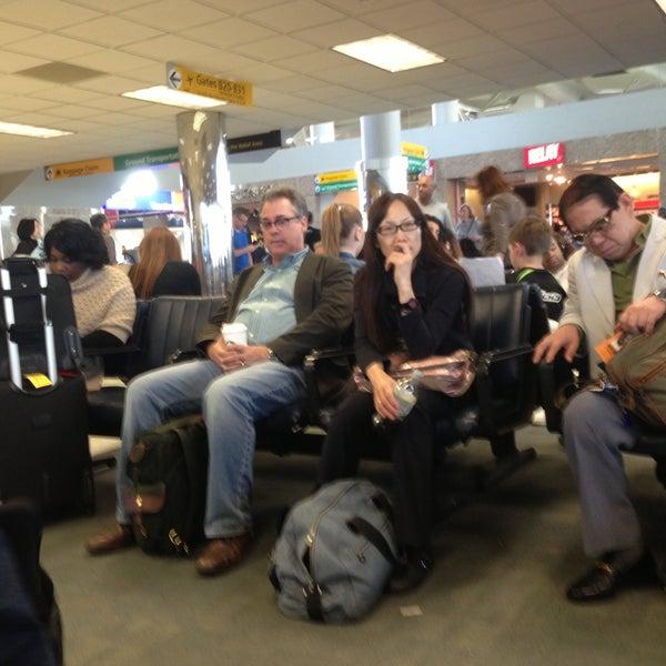 Photo taken at Terminal 3 by Barbara S. on 4/26/2013