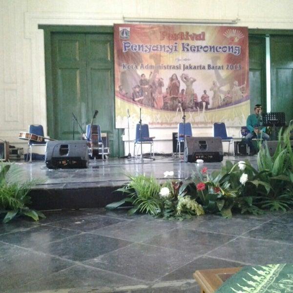 Photo taken at Museum Seni Rupa dan Keramik by Ervina S. on 4/17/2013