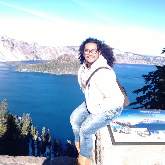 Photo taken at Crater Lake National Park by Kimo O. on 1/3/2014