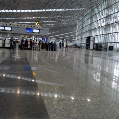 Photo taken at Netaji Subhash Chandra Bose International Airport (CCU) by Twinkle C. on 7/1/2013