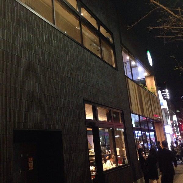 Photo taken at Starbucks Coffee 神楽坂下店 by arjin on 4/3/2015