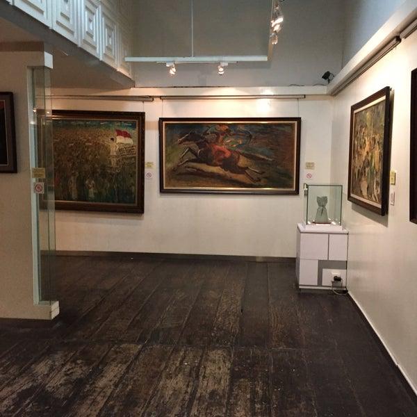 Photo taken at Museum Seni Rupa dan Keramik by Pavel K. on 2/14/2016