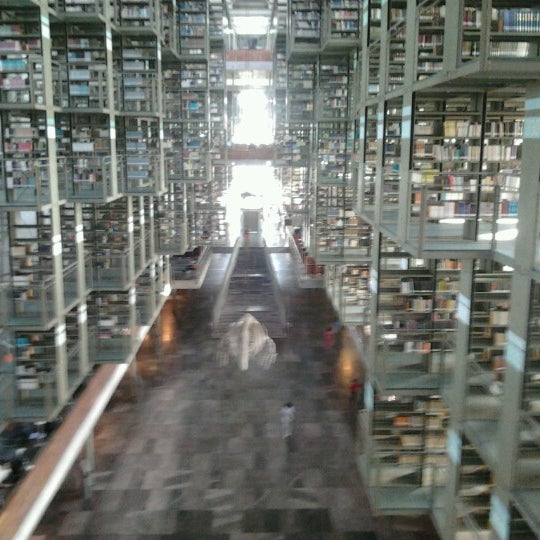 Photo taken at Biblioteca Vasconcelos by Alejandro on 12/20/2012