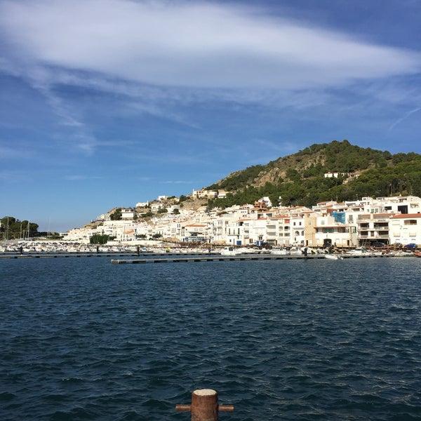 Photo taken at El Port de la Selva by Jb Rm C. on 10/11/2016