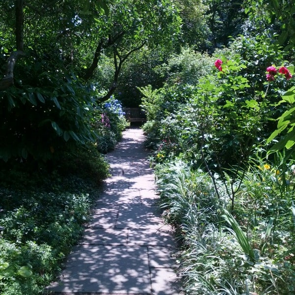 Photo taken at The Garden at St. Luke in the Fields by Rebecca L. on 6/21/2013