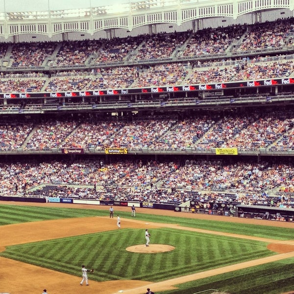 Photo taken at Yankee Stadium by Emma on 7/28/2013