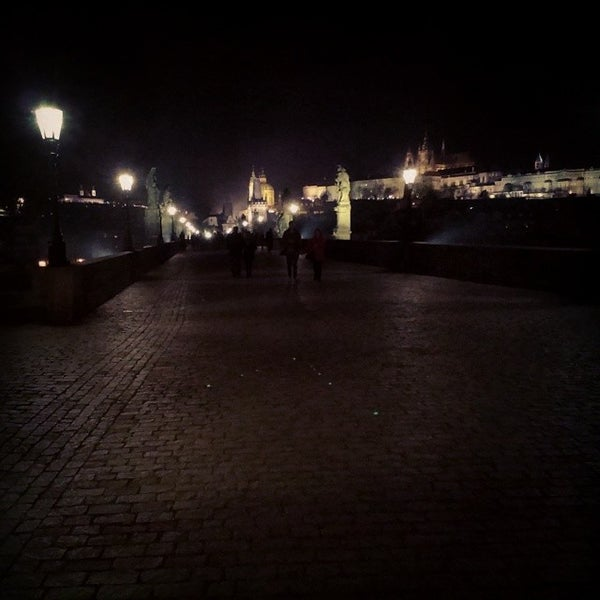 Photo taken at Karlův most | Charles Bridge by Pavel P. on 3/15/2014