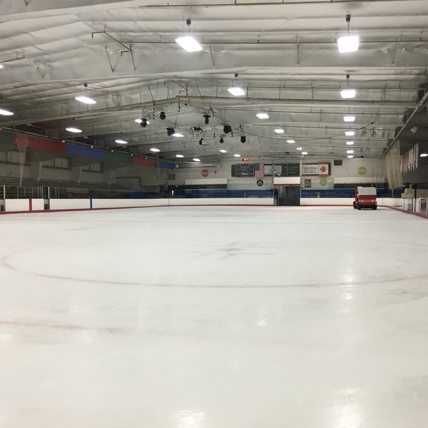 Photo taken at San Diego Ice Arena by Lars-Erik F. on 9/8/2016