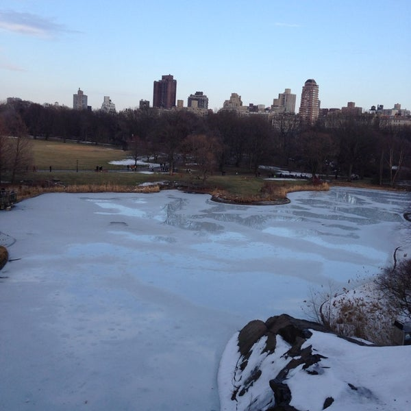 Photo taken at Belvedere Castle by Rene on 3/8/2014