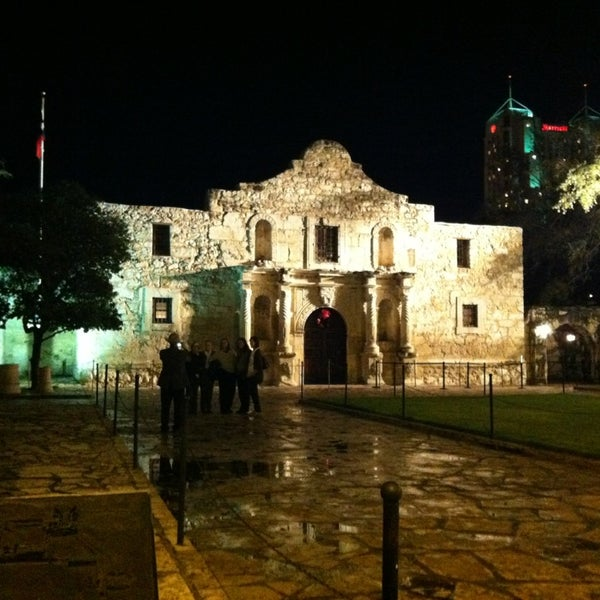 Photo taken at The Alamo by Ashley B. on 1/10/2013