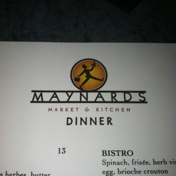 Photo taken at Maynards Market & Kitchen by Sara G. on 2/18/2013