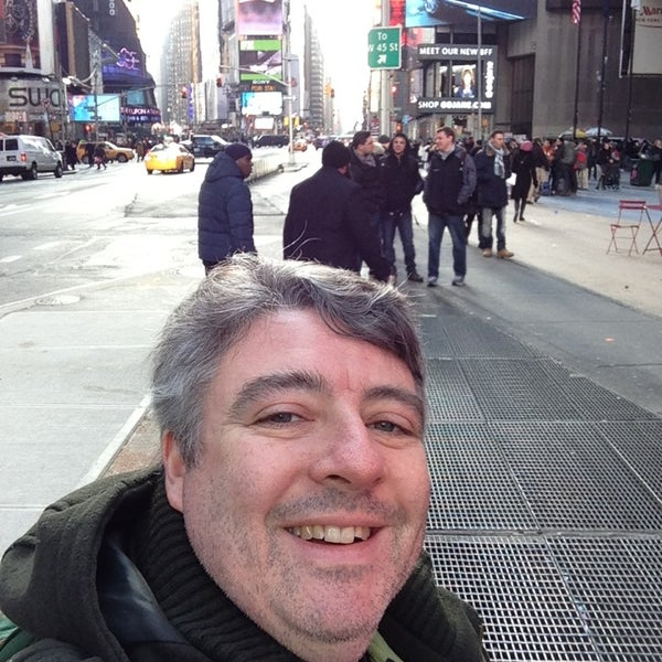 "Photo taken at Max Neuhaus ""Times Square"" by Kevin R. on 1/4/2013"