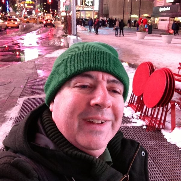 "Photo taken at Max Neuhaus ""Times Square"" by Kevin R. on 2/9/2013"