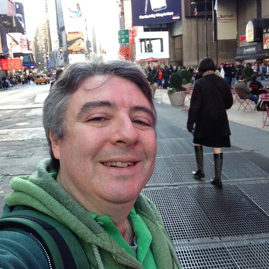 "Photo taken at Max Neuhaus ""Times Square"" by Kevin R. on 11/17/2012"