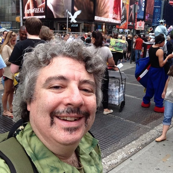 "Photo taken at Max Neuhaus ""Times Square"" by Kevin R. on 8/2/2014"