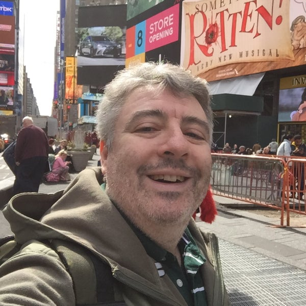 "Photo taken at Max Neuhaus ""Times Square"" by Kevin R. on 3/11/2016"