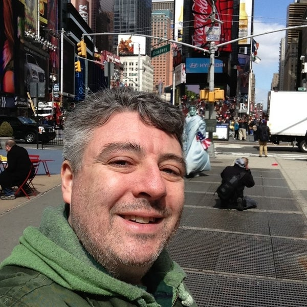 "Photo taken at Max Neuhaus ""Times Square"" by Kevin R. on 3/22/2013"