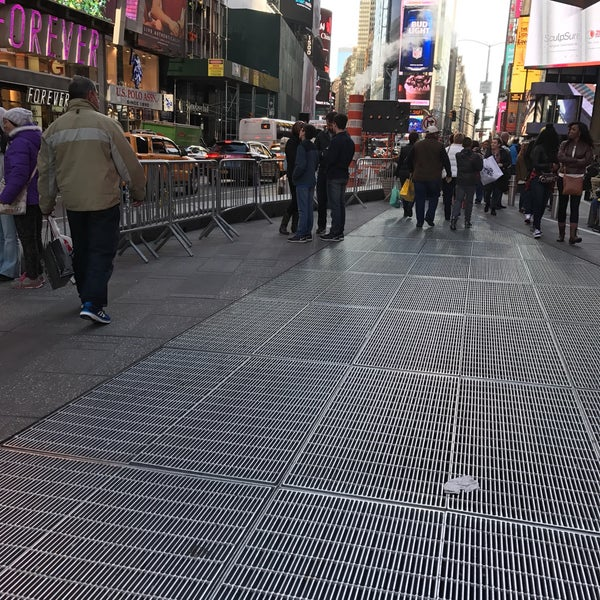 """Photo taken at Max Neuhaus """"Times Square"""" by Kevin R. on 11/12/2016"""