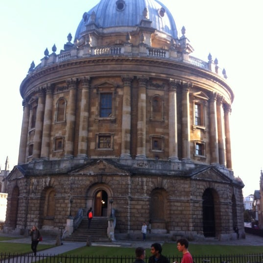 Photo taken at Radcliffe Camera by Ezgi K. on 11/5/2012