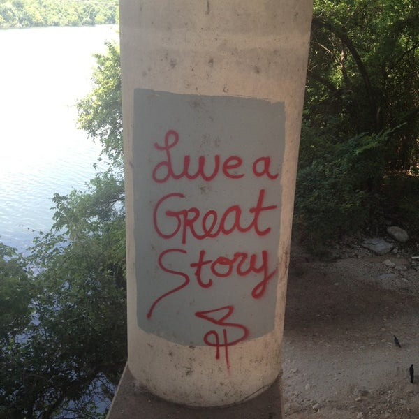 Photo taken at Lady Bird Lake Trail by Veronica B. on 8/19/2013