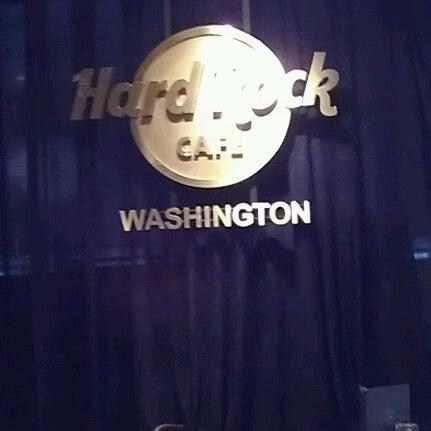 Photo taken at Hard Rock Cafe Washington DC by Anne-Laure V. on 2/7/2013