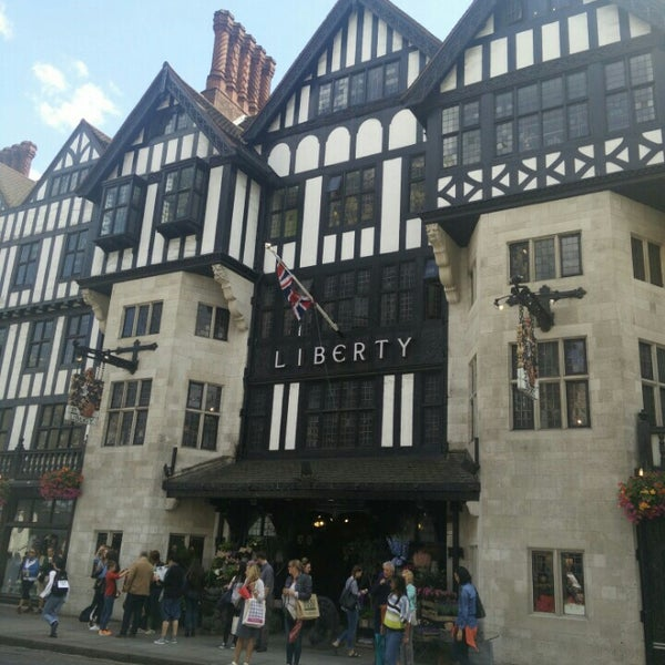 Photo taken at Liberty of London by Lukas L. on 7/25/2015