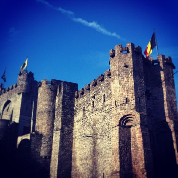 Photo taken at Gravensteen / Castle of the Counts by nimi on 1/12/2013