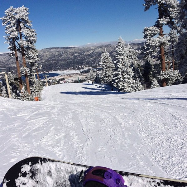 Snow Summit Mountain Resort Ski Area In Big Bear Lake