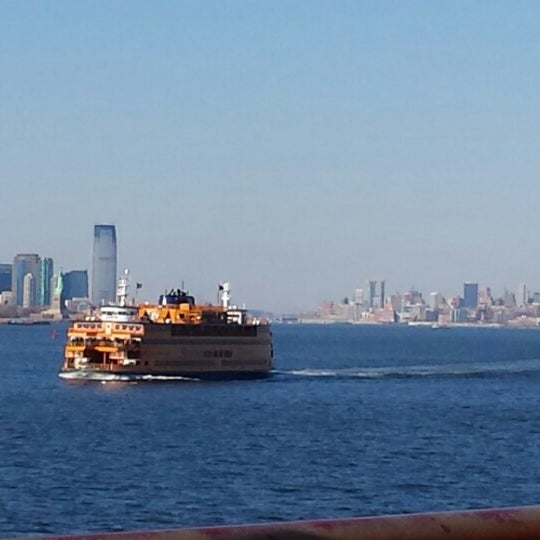 Photo taken at Staten Island Ferry Boat - Guy V. Molinari by Tobi on 3/9/2015